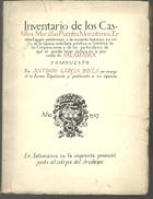 Antonio GARCIA BOIZA Inventario De Los Castillos, Murallas, Puentes, Monasterios - Culture