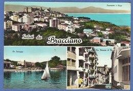 BRACCIANO  (Roma)  -F/G   Acquarellata (270809) - Altre Città