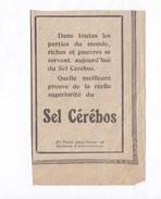 Pub.1915 Sel Cérébos  BE - Publicités