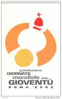 VATICAN - XV Giornata Mondiale Della Gioventu Roma 2000(77), Tirage 20000, Exp.date 01/09/02, Mint