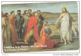 VATICAN - Michele Keck/Fabbricca Di S. Pietro(18), Tirage 14800, Exp.date 30/06/98, Mint