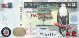 ZAMBIE 2 KWACHA 2012 (2013) P-49a NEUF [ZM152a] - Zambie