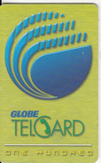 PHILIPPINES(chip) - Green Card, Globe Telecom P100, Chip GEM3.3, Exp.date 31/12/03, Used