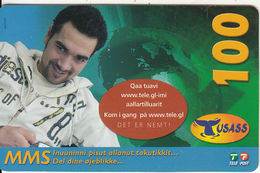 GREENLAND - Boy, USASS/Tele Post Prepaid Card 100 Kr., Exp.date 19/12/09, Used - Greenland