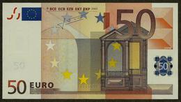 Germany - X - 50 Euro - R033 F1 - X60734805563 - Trichet - UNC - EURO