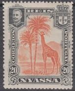 NYASSA 1901 GIRAFE  - GIRAFE