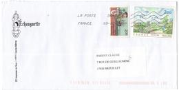 FRANCIA - France - 2014 - Pissarro + Jacques Cartier - Viaggiata Da 38909A Per Breuillet, France - Francia