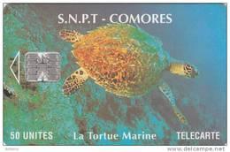 COMOROS ISL. - Marine Turtle(no CN), Used - Comoren