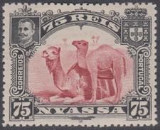 NYASSA 1901 D. CARLOS I CHAMEAUX - CAMELS  Camelus Dromedarius