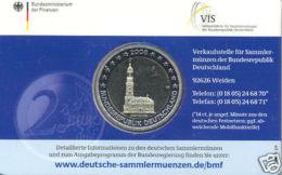 Deutschland 2008 - 1. Offizielle Klappkarte / Coin Card - 2 Euro Michel PP (J) - Germany