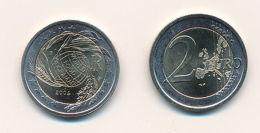 Italien 2004 - Offizielle, Original 2 Euro Gedenkmünze - Welternährungsprogramm - Italy
