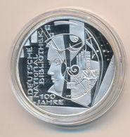 10 Euro Deutschland 2012 - 100 J. Nationalbibliothek - Silber PP / Spiegelglanz - Germany