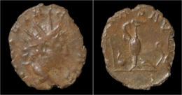 Tetricus II Billon Antoninianus Pontificate Implements - 5. L'Anarchie Militaire (235 à 284)