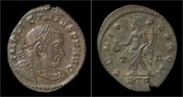 Licinius I AE3 Genius Standing Left - 7. L'Empire Chrétien (307 à 363)