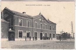 Marchienne-au-Pont -Gare - Très Animée - Phototypie Préaux Frères, Ghlin - Estaciones Sin Trenes