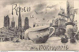 CPA Rouen Le Pot De Chambre De La Normandie ND Phot. - Rouen