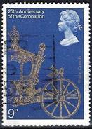 Great Britain 1978 - 25th Anniv. Of Coronation : State Coach ( Mi 765 - YT 864)