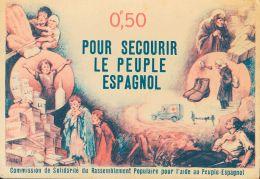 GUERRA CIVIL Tarjeta Postal Republicana (*) - Nationalist Issues