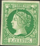 ISABEL II Isabel II. 1 De Febrero De 1860 (*) 51 - 1850-68 Kingdom: Isabella II