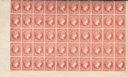 ISABEL II Isabel II. 11 De Abril De 1856. Papel Blanco **/* 48C(50) - 1850-68 Kingdom: Isabella II