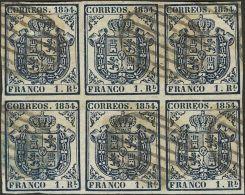 ISABEL II Isabel II. 1 De Noviembre De 1854 º 34(6) - 1850-68 Kingdom: Isabella II
