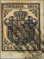 ISABEL II Isabel II. 1 De Noviembre De 1854 Fragmento 34 - 1850-68 Kingdom: Isabella II