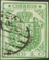 ISABEL II Isabel II. 1 De Noviembre De 1854 º 32A - 1850-68 Kingdom: Isabella II