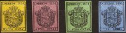 ISABEL II Isabel II. 1 De Julio De 1854. Servicio Oficial */(*) 28/31 - 1850-68 Kingdom: Isabella II