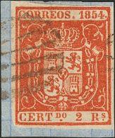 ISABEL II Isabel II. 1 De Enero De 1854 Fragmento 25 - 1850-68 Kingdom: Isabella II
