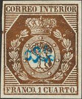 ISABEL II Isabel II. Correo Interior De Madrid * 22 - 1850-68 Kingdom: Isabella II