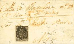 ISABEL II Isabel II. Correo Interior De Madrid Sobre 22 - 1850-68 Kingdom: Isabella II