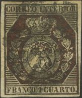 ISABEL II Isabel II. Correo Interior De Madrid º 22 - 1850-68 Kingdom: Isabella II
