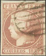 ISABEL II Isabel II. 1 De Enero De 1852 Fragmento 13 - 1850-68 Kingdom: Isabella II