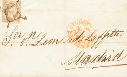 ISABEL II Isabel II. 1 De Enero De 1851 Sobre 7 - 1850-68 Kingdom: Isabella II