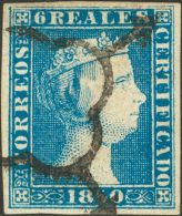 ISABEL II Isabel II. 1 De Enero De 1850 º 4 - Unused Stamps