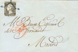 ISABEL II Isabel II. 1 De Enero De 1850 Sobre 1A - 1850-68 Kingdom: Isabella II