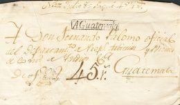 PREFILATELIA Colonial Sobre - Spain