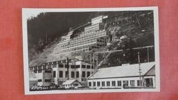 - Alaska   RPPC  Juneau A Jg M Co. Mill====== ===== Ref 2480 - Juneau