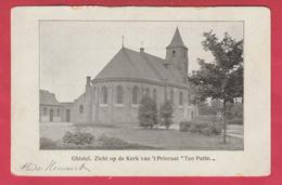 """Gistel / Ghistel - Zicht Op De Kerk Van ' T Prioraat """" Ten Putte """" ( Verso Zien ) - Gistel"""