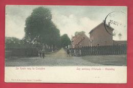 Gistel / Ghistel - La Route Vers La Croisière - 1922 ( Verso Zien ) - Gistel