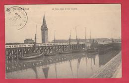 Nieuwpoort / Nieuport - Le Vieux Phare Et Les Bassins - 1913 ( Verso Zien ) - Nieuwpoort