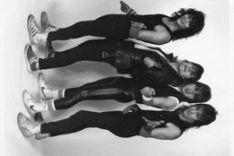 Photo De Presse - Le Groupe De Chanteurs  Rock   BLASPHEME  En 1985  Photo  JOEL DUCLOUET - Berühmtheiten