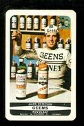 Speelkaart ( 0253 ) 1 Losse Kaart - Publicité Reclame  Wijn Likeur Liqueur Distillerie Stokerij -  GEENS - Barajas De Naipe