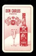 Speelkaart ( 0257 ) 1 Losse Kaart - Publicité Reclame  Wijn Likeur Liqueur Distillerie Stokerij -  DON CARLOS - Barajas De Naipe