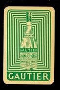 Speelkaart ( 0258 ) 1 Losse Kaart - Publicité Reclame  Wijn Likeur Liqueur Distillerie Stokerij -  GAUTIER - Barajas De Naipe