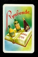 Speelkaart ( 0261 ) 1 Losse Kaart - Publicité Reclame  Wijn Likeur Liqueur Distillerie Stokerij -  RYNBENDE - Barajas De Naipe