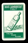 Speelkaart ( 0268 ) 1 Losse Kaart - Publicité Reclame  Wijn Likeur Liqueur Distillerie Stokerij -  THIELT  TIELT - Barajas De Naipe