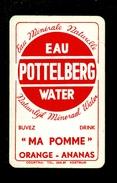 Speelkaart ( 0274 ) 1 Losse Kaart - Publicité Reclame  Water  Eau  - POTTELBERG Courtrai  Kortrijk - Speelkaarten