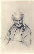 FINISTERE - 29 -  Têtes De Bretagne D'après Illustrateur Scherbeck - Femme - Unclassified