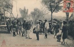 G34 - INDOCHINE - TONKIN - Yen-Thé - Groupe De Marsoins Au Poste De Motrang - Vietnam